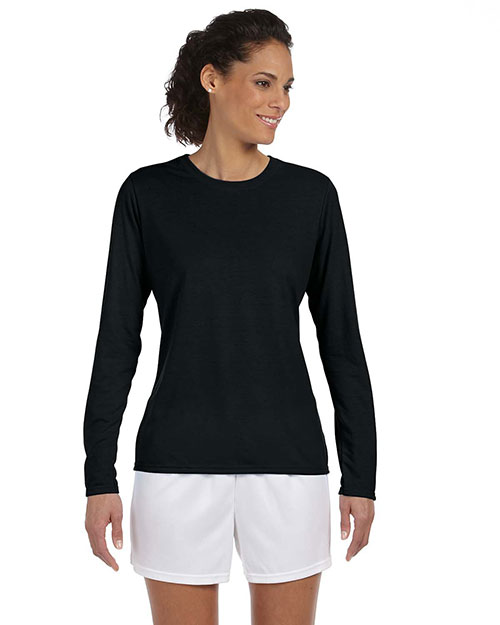 Gildan G424L Women Performance 4.5 Oz. Long-Sleeve T-Shirt at GotApparel