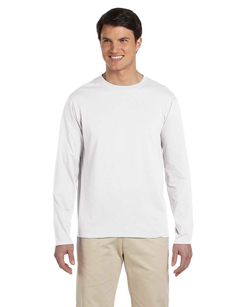 Gildan G644 Men Softstyle 4.5 Oz. Long-Sleeve T-Shirt at GotApparel