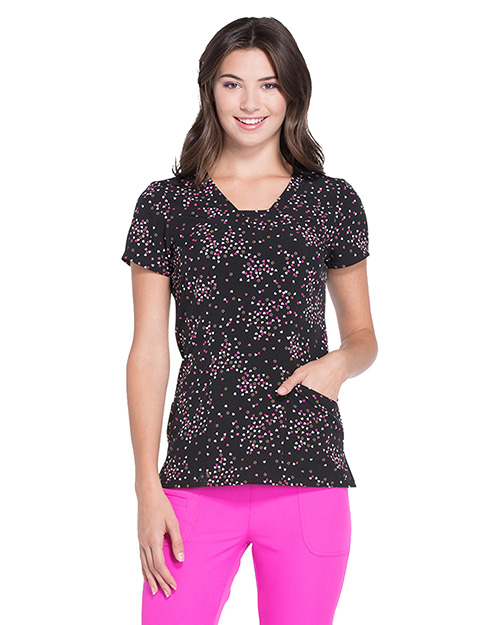 Heartsoul Hs610  V-Neck Top at GotApparel