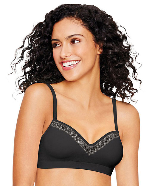 Hanes Ultimate HU10 Women Natural Lift Wirefree Bra at GotApparel