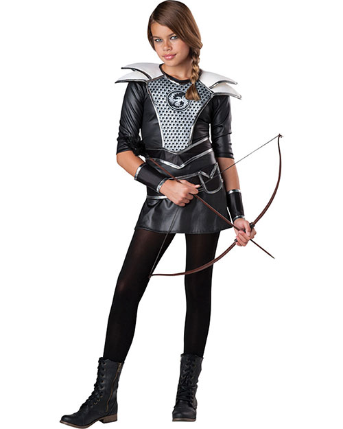 Halloween Costumes IC18071LG Girls Midnight Huntress Child 12-14 at GotApparel