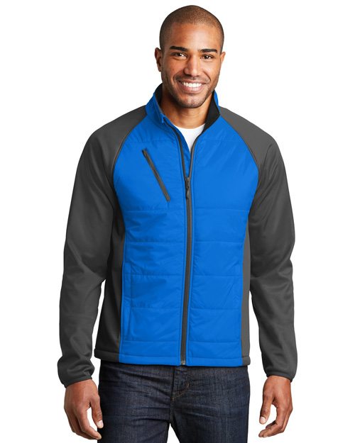 Port Authority J787 Men Hybrid Soft Shell Jacket. at GotApparel