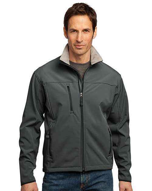 Port Authority TLJ790 Men Tall Glacier Soft Shell Jacket at GotApparel