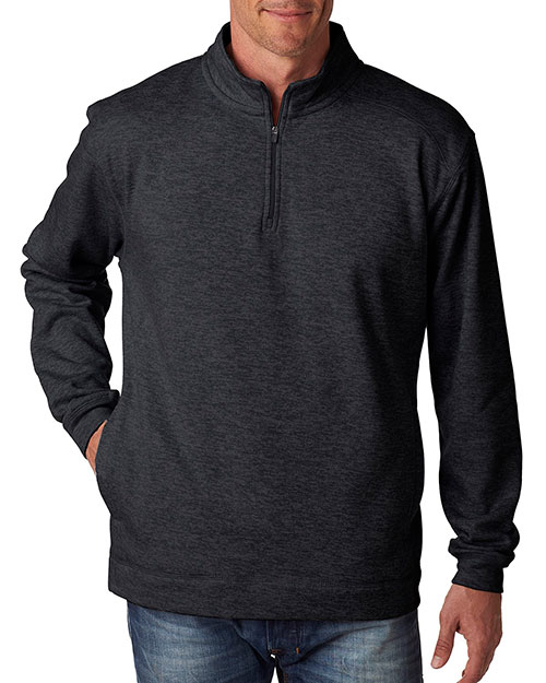 J America J8614 Men Cosmic 1/4-Zip Fleece at GotApparel