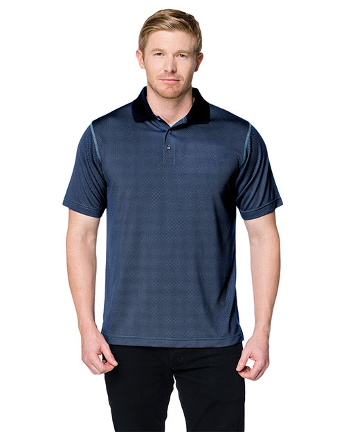 Tri-Mountain K173 Men Tmr Cf3 Short-Sleeve Polo Shirt at GotApparel