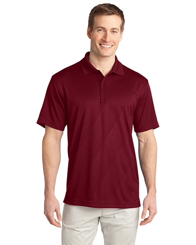 Port Authority K548 Men Tech Embossed Polo at GotApparel