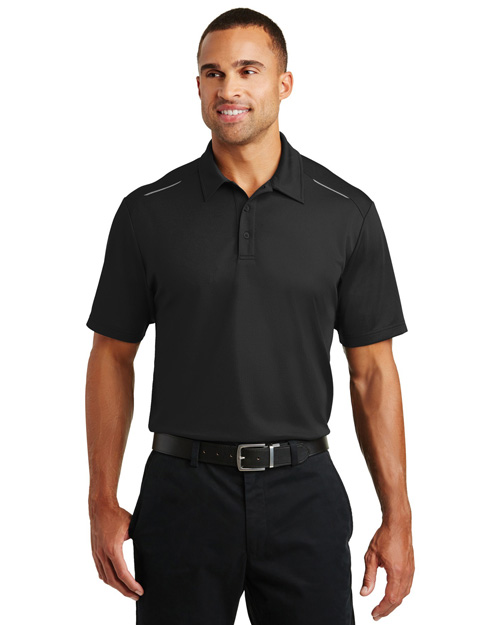 Port Authority K580 Men Pinpoint Mesh Polo at GotApparel