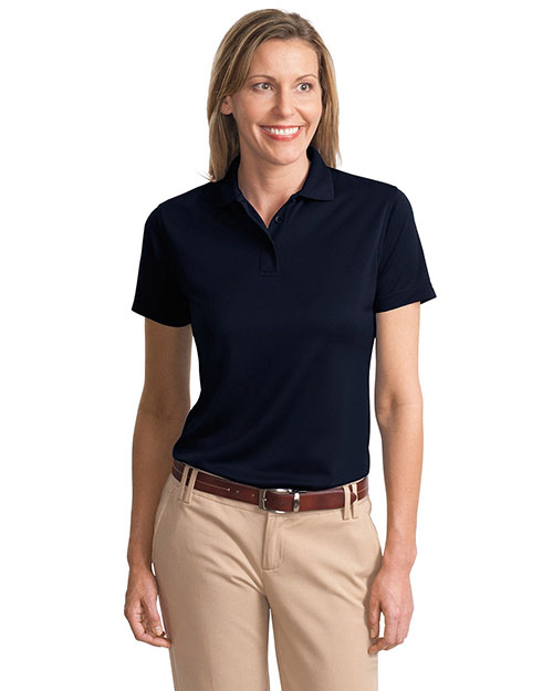 Port Authority L497 Women Poly-Bamboo Charcoal Blend Pique Polo at GotApparel