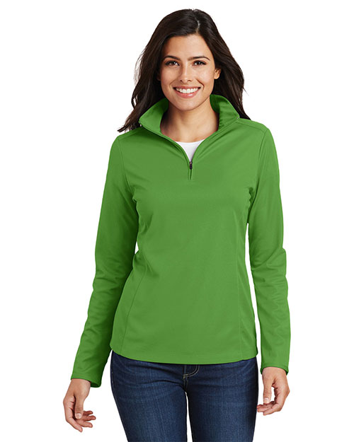 Port Authority L806 Women Pinpoint Mesh 1/2-Zip at GotApparel