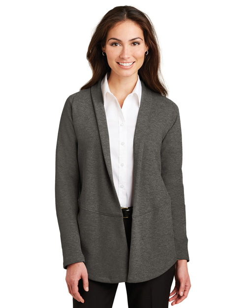 Port Authority L807 Women Interlock Cardigan at GotApparel