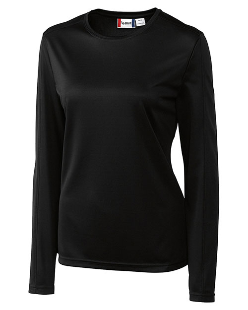 Clique New Wave LQK00028 Women Long-Sleeve Ice Tee at GotApparel