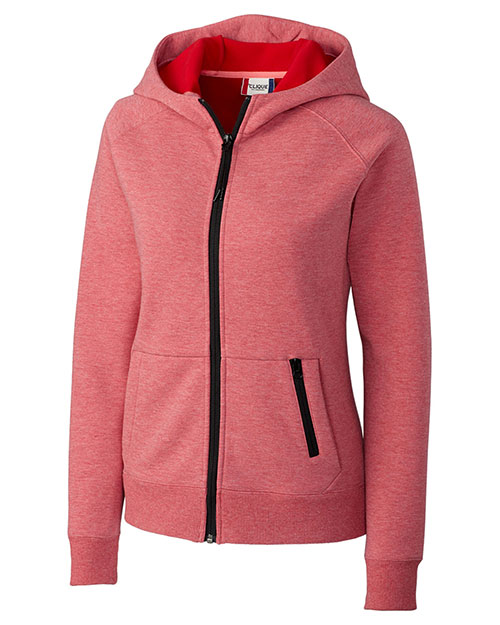 Clique New Wave LQK00039 Women Lund Lady Fleece Zip Hoodie at GotApparel