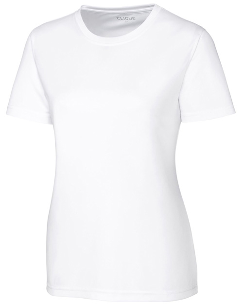 Clique New Wave LQK00064 Women Spin Dye Lady Jersey Tee at GotApparel