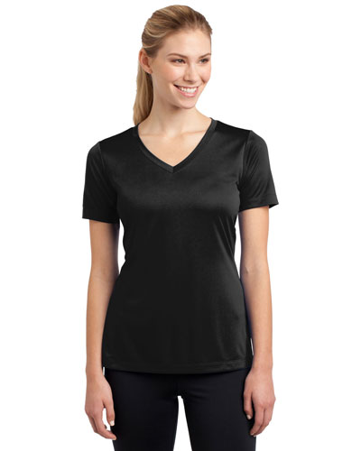 Sport-Tek® LST353 Women PosiCharge® Competitor  V-Neck Tee at GotApparel