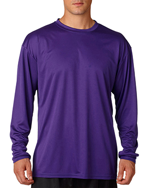 A4 N3165 Men Cooling Performance Long Sleeve Tee at GotApparel