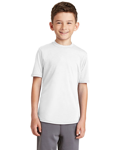 Port & Company PC381Y Boys Essential Blended Performance Tee at GotApparel
