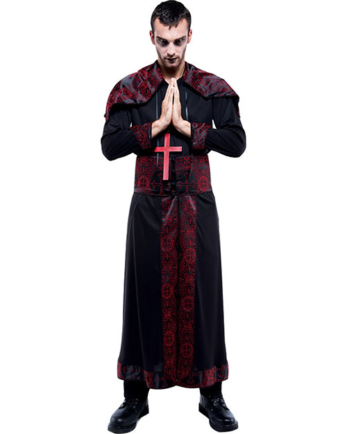 Halloween Costumes PM869914 Men Endless Options Bk/Rd Robe (S) at GotApparel