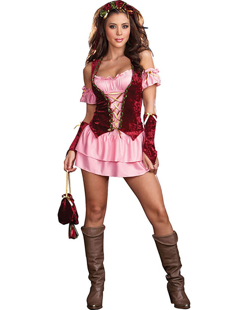 Halloween Costumes RL5863LG Women Pleasure Faire Wench Lg 10-14 at GotApparel