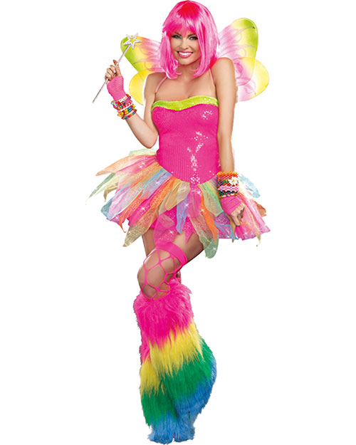 Halloween Costumes RL9566SM Women Rainbow Fairy Small at GotApparel