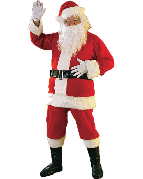 Halloween Costumes RU2365 Men Santa Suit Flannel at GotApparel