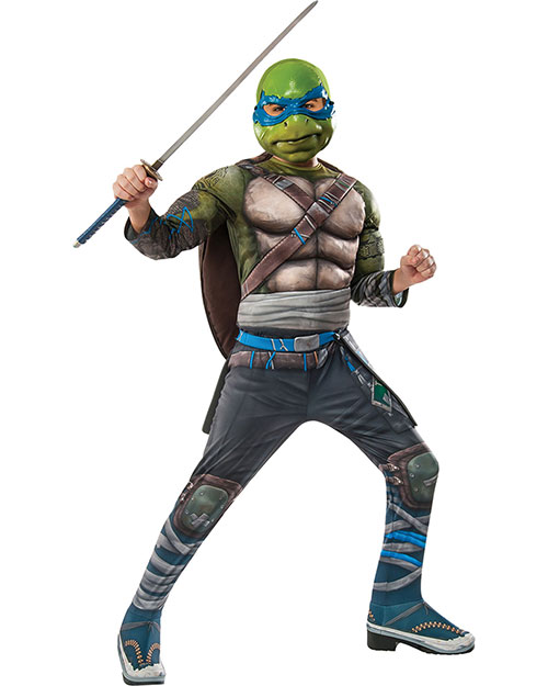 Halloween Costumes RU620820LG Boys Tmnt2 Dlx Leonardo Chd Large at GotApparel