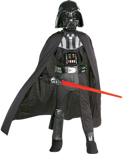 Halloween Costumes RU82014LG Boys Darth Vader Chld Lg W Mask at GotApparel