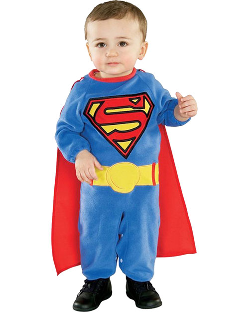 Halloween Costumes RU885301N Boys Superman Newborn 0-6 Months at GotApparel
