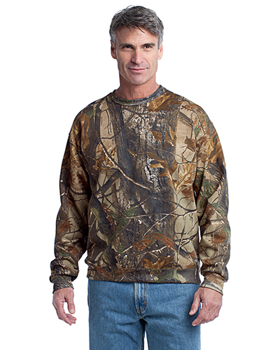 Russell Outdoor™ S188R Adult Realtree® Crewneck Sweatshirt at GotApparel