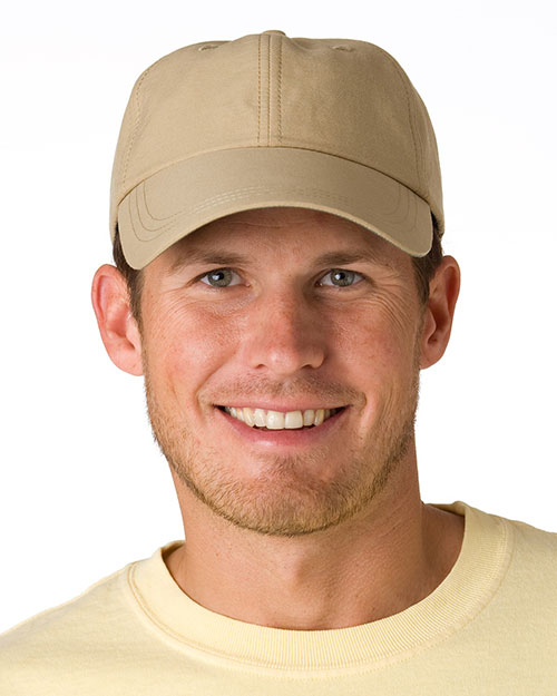 Adams SH101 6-Panel UV Low-Profile Cap with Elongated Bill at GotApparel