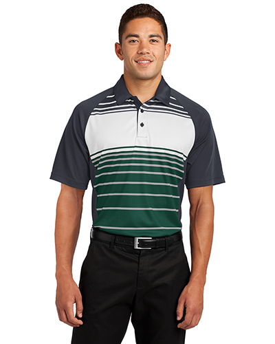 Sport-Tek ST600 Men Dry Zone Sublimated Stripe Polo at GotApparel