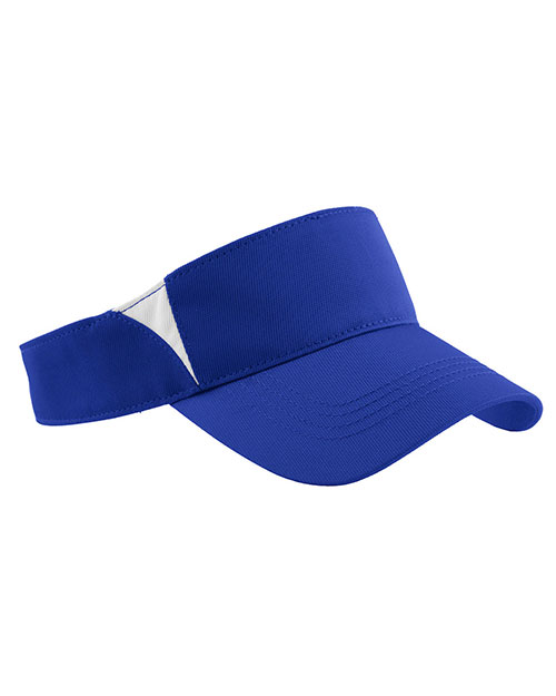 Sport-Tek® STC13 Unisex Dry Zone Colorblock Visor at GotApparel