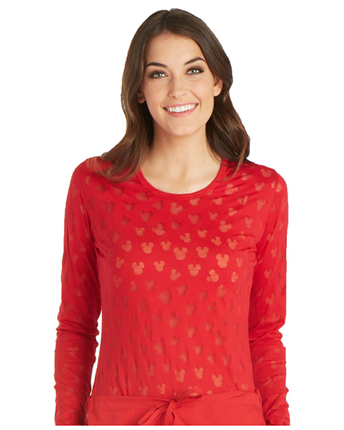 Tooniforms TF621 Women Long Sleeve Underscrub Knit Tee at GotApparel