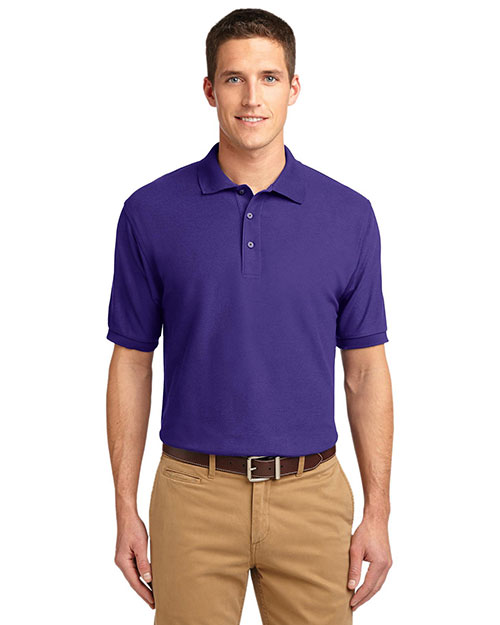 Port Authority TLK500 Men Tall Silk Touch  Polo at GotApparel