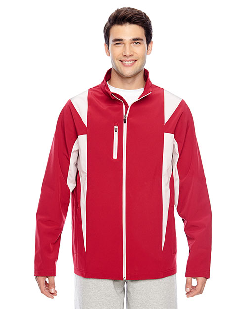 Team 365 TT82 Men Icon Colorblock Soft Shell Jacket at GotApparel