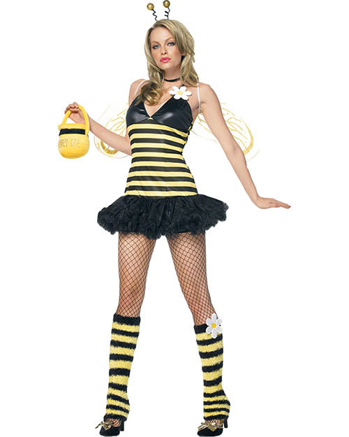 Halloween Costumes UA83343XS Women Daisy Bee X Small at GotApparel