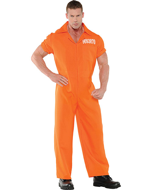 Halloween Costumes UR28057 Men Convicted Mens Std at GotApparel