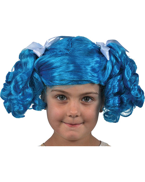 lalaloopsy fluff n stuff wig bluewhite at gotapparel