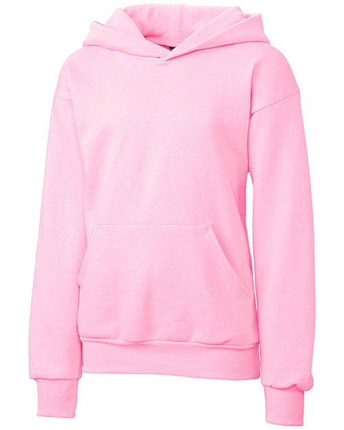 Clique Basics YRK02001 Girls Fleece Pullover Hoodie at GotApparel