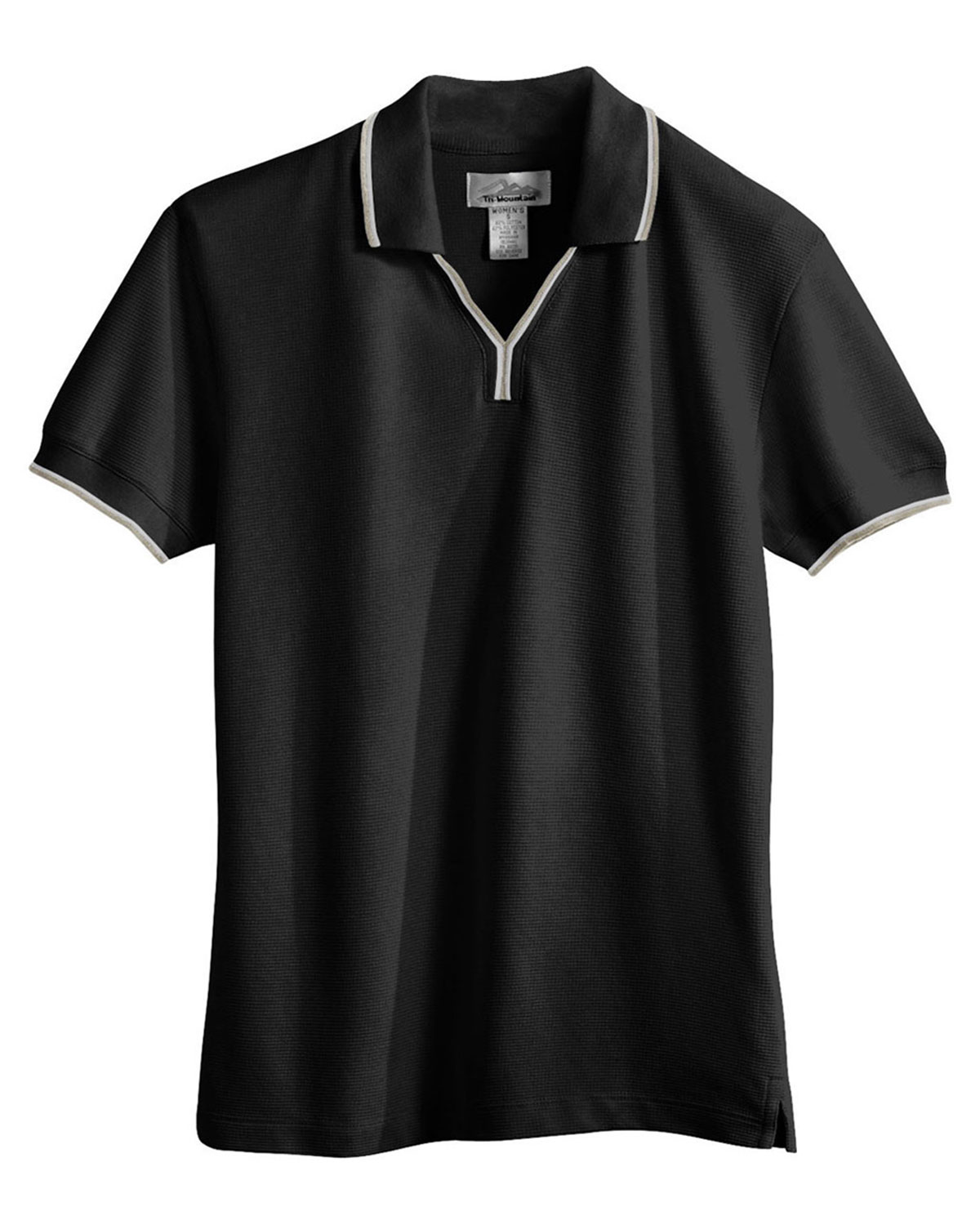 Tri-Mountain 112 Women Journey Short Sleeve Ultracool Mesh Johnny Collar Golf Shirt at GotApparel