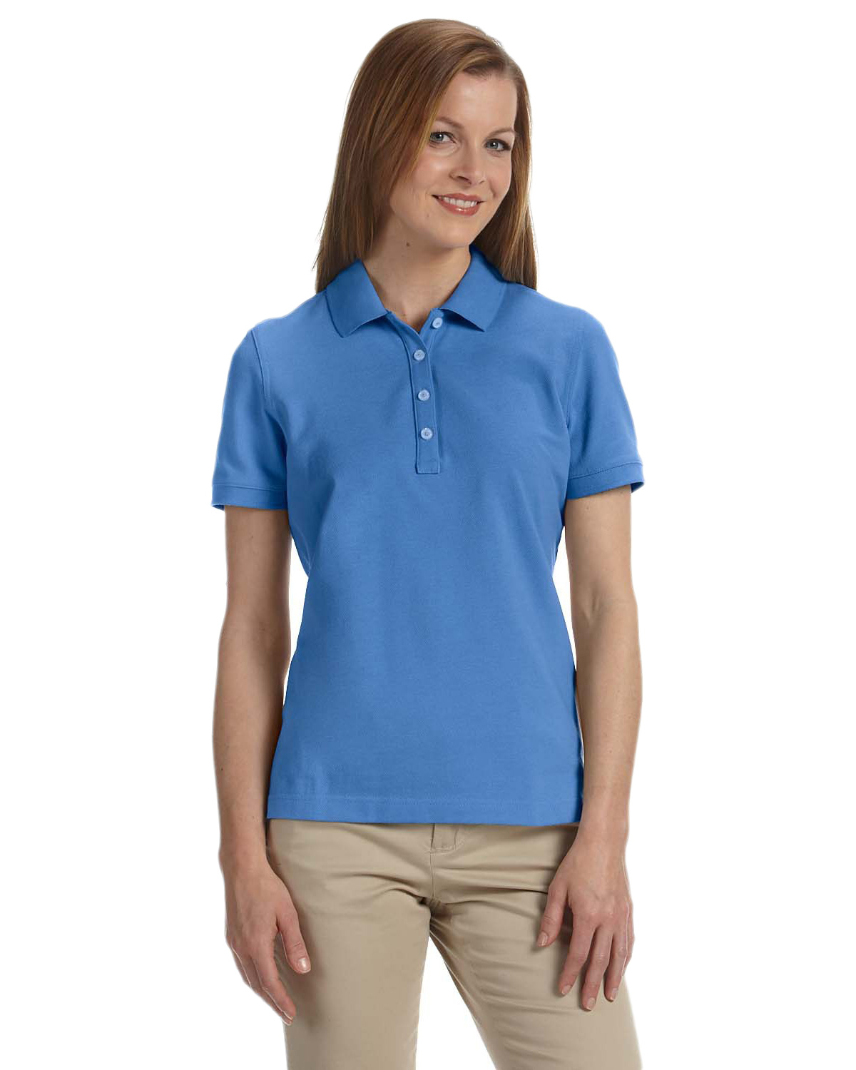 Ashworth 1146C Women's Combed Cotton Pique Polo at GotApparel