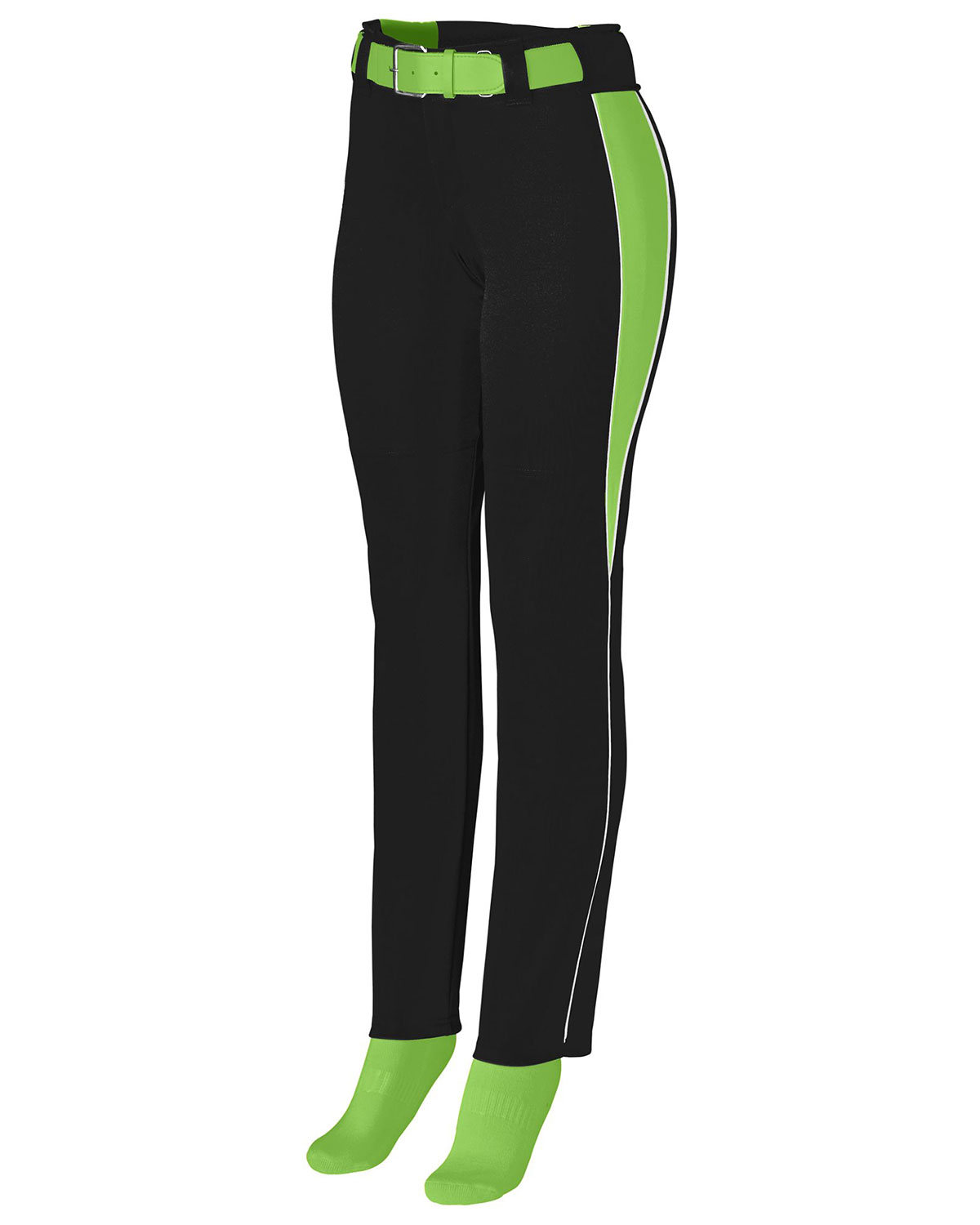 Augusta 1243 Girls Outfield Softball Pant With Drawcord at GotApparel