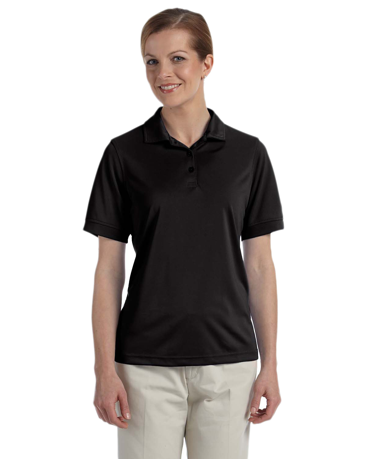 Ashworth 1290C Women's Performance Wicking Pique Polo at GotApparel