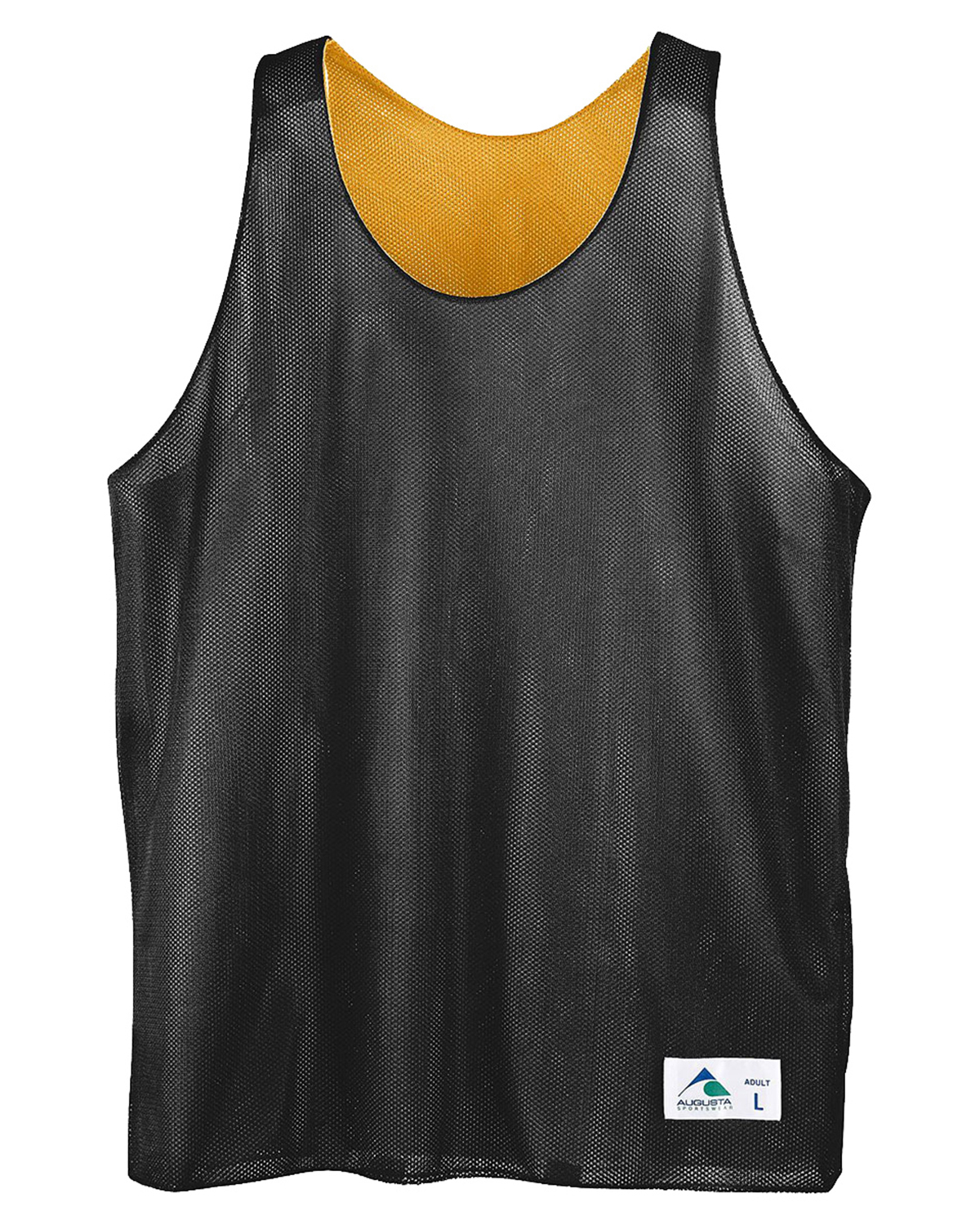 Augusta Drop Ship 137 Boy's Reverse Mini Mesh League Tank at GotApparel