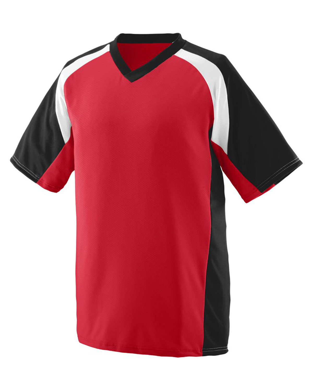Augusta 1536 Boys Nitro Football Short Sleeve V-Neck Jersey at GotApparel