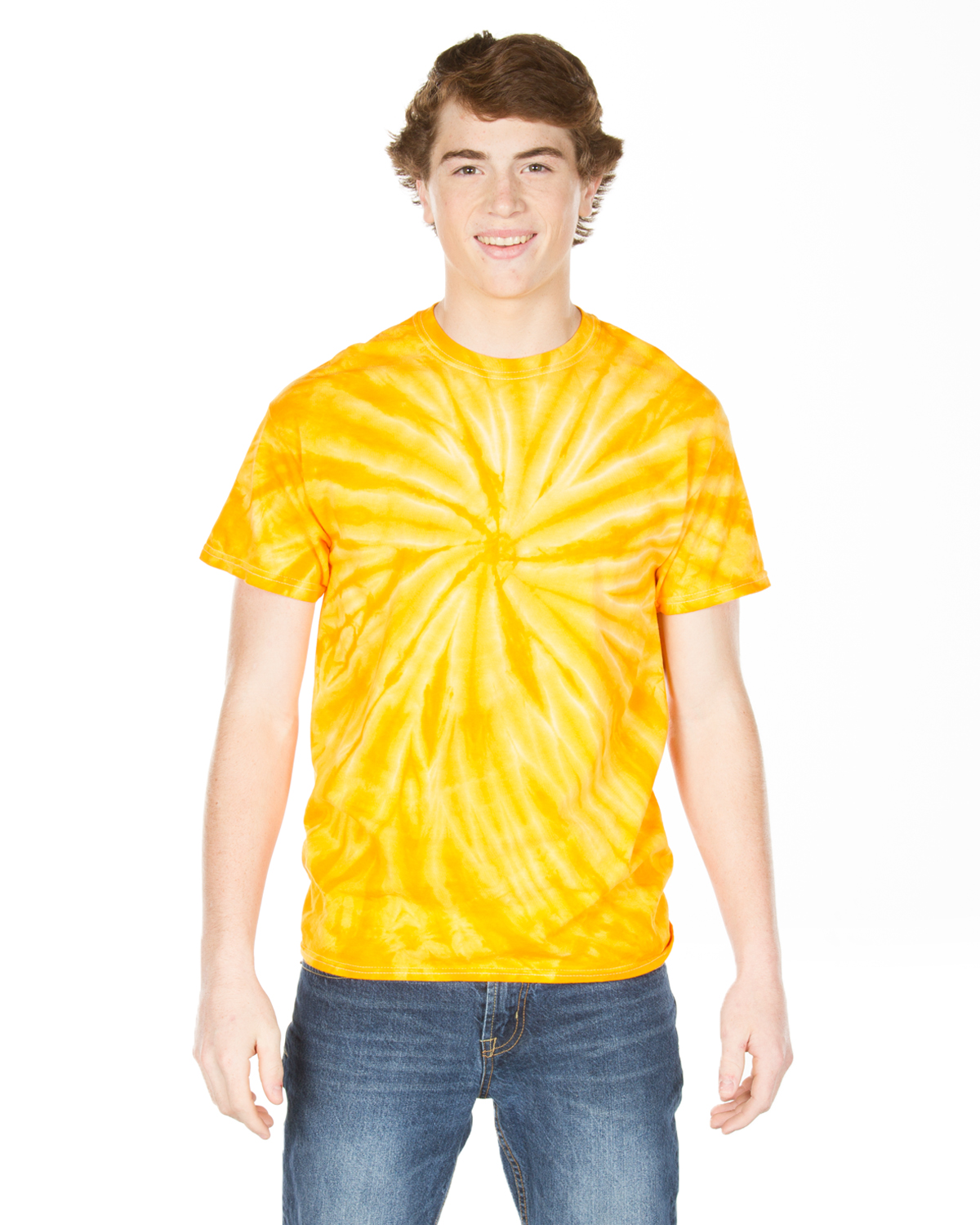 Gildan Tie-Dyes 67 Dyenomite Adult Cyclone Tee at GotApparel