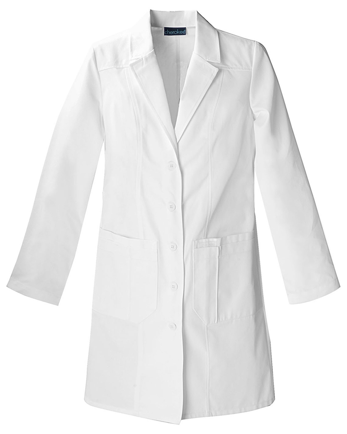 Cherokee 2319 Women 36&quot Lab Coat at GotApparel