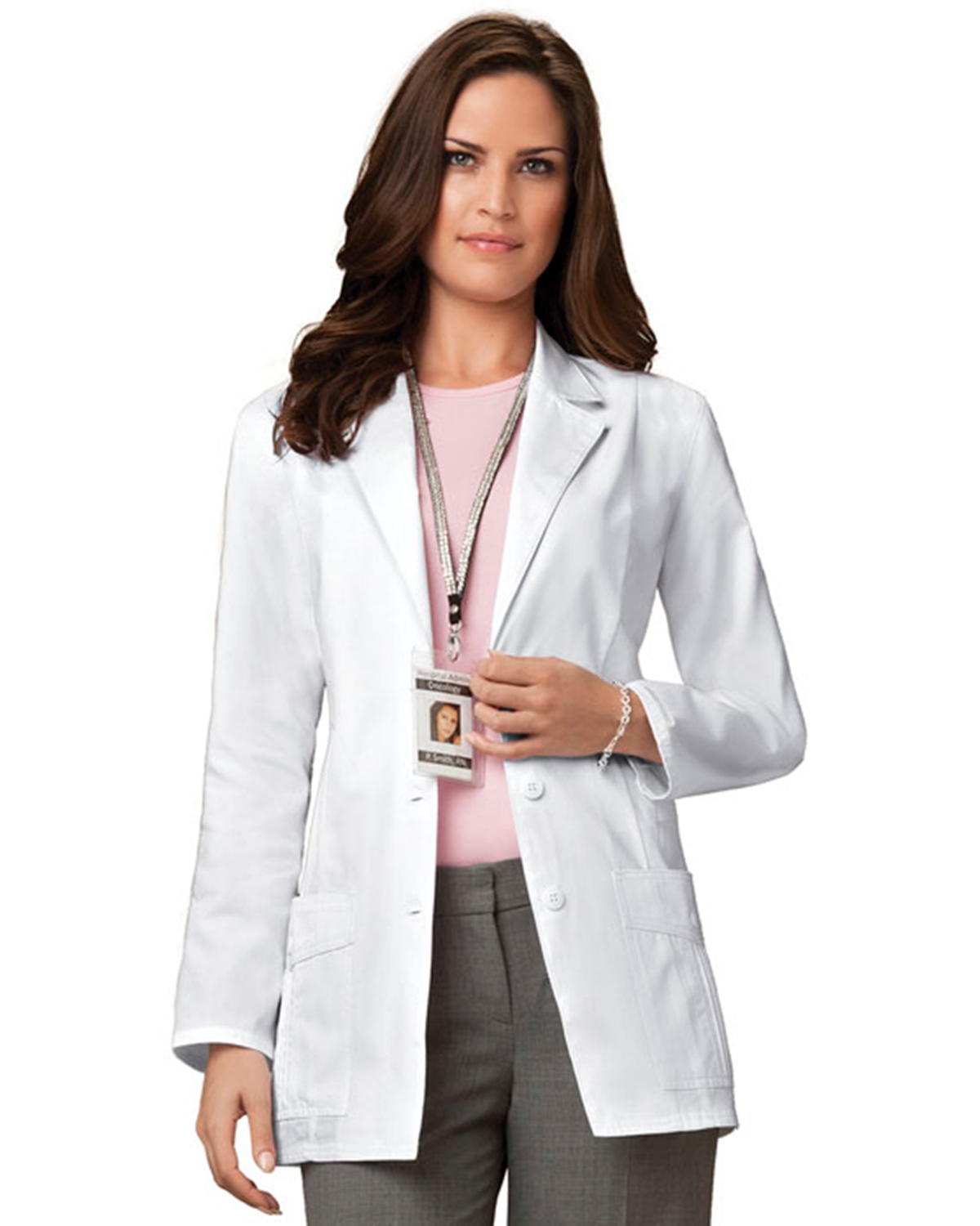 Cherokee 2321 Women 30&quot Lab Coat at GotApparel