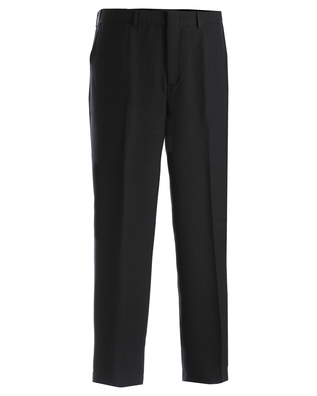 Edwards 2588 Men's Natural Stretch Flat Front Easy Fit Microfiber Pants at GotApparel