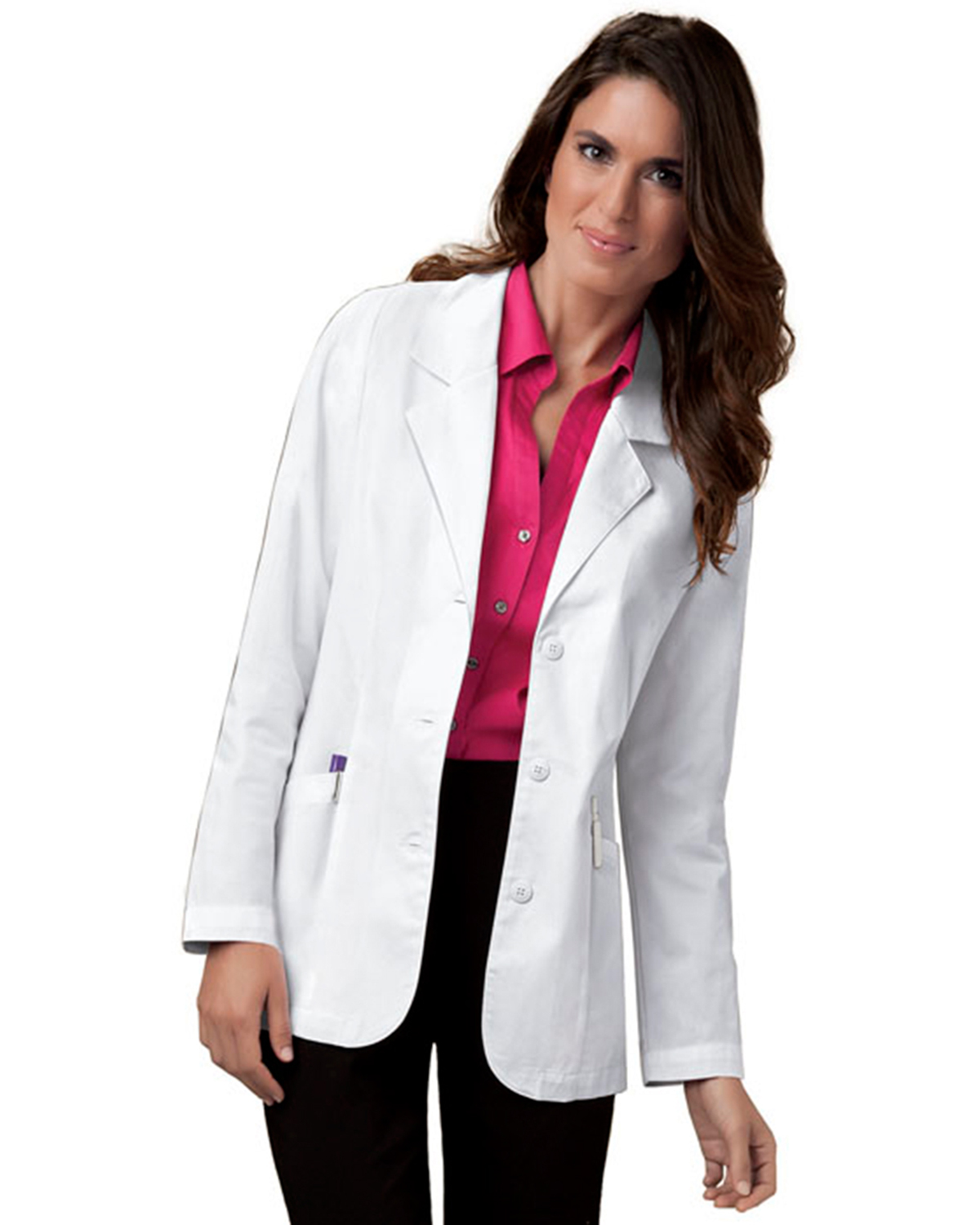Cherokee 348 Women 30&quot Lab Coat at GotApparel