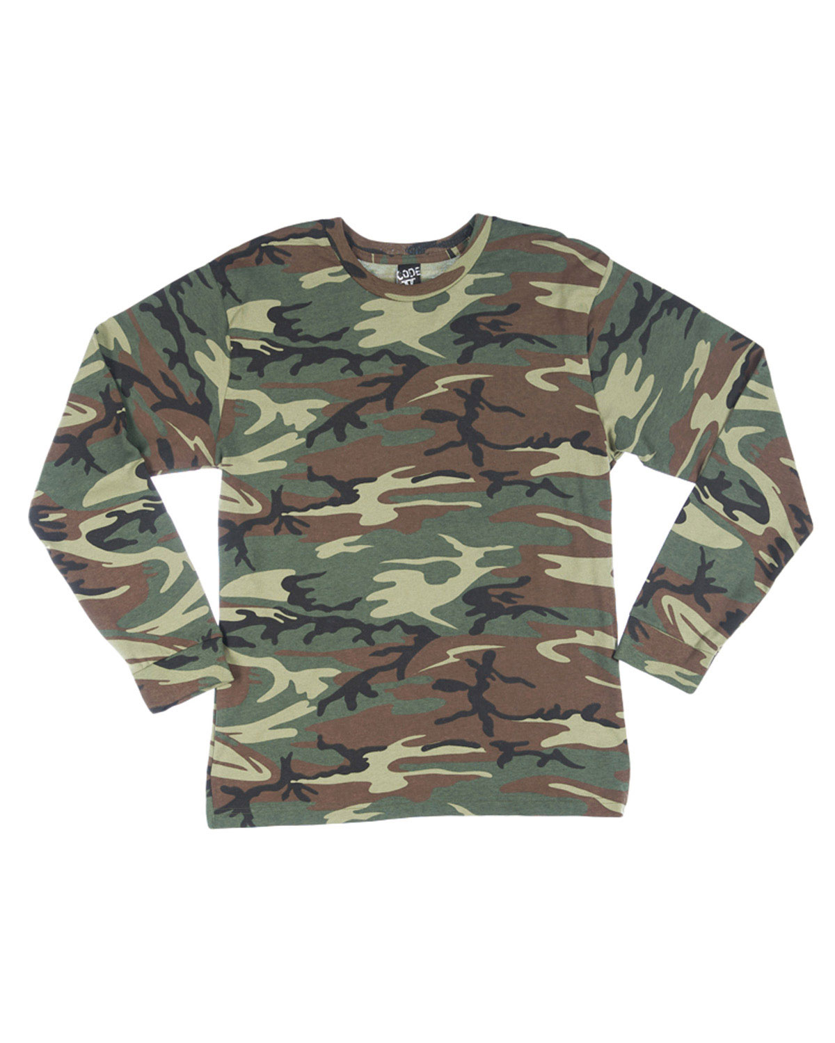 Code V 3916 Adult Long Sleeve Camoflauge Tee at GotApparel